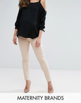 Mama Licious Mama.licious Over The Bump Elly Skinny Jeans