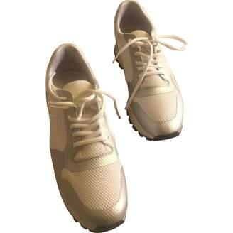 Dirk Bikkembergs \N White Cloth Trainers