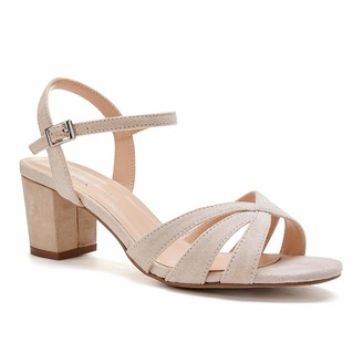Paradox London Pink Women's Camille Ankle Strap Sandals