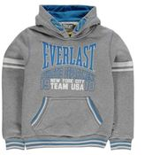 Everlast Kids Large Logo Junior Boys Hoody OTH Hoodie Long Sleeve Hooded Casual