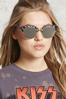 Forever 21 Mirrored Tortoise Sunglasses