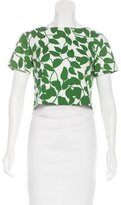 Kate Spade Printed Cropped Top