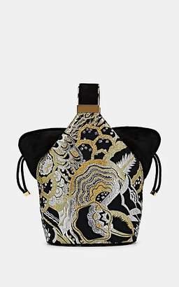 Art Disco Bienen-Davis Women's The Kit Brocade Bracelet Bag - Gold Multi