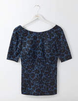 Boden Fleur Fitted Top
