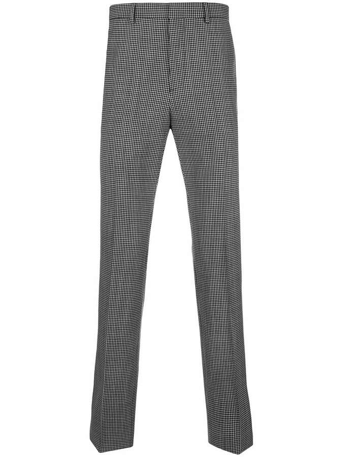 Givenchy check tailored trousers