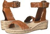 Soludos Woven Demi Wedge Open Toe Sandal