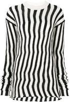 Helmut Lang Ivory knit top - women - Nylon/Polyester/Mohair/Wool - S