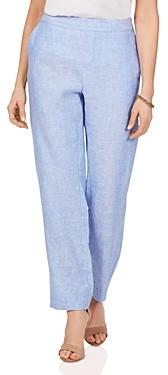 Foxcroft Livingston Easy Care Linen Pants