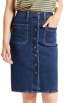 Levi's Women's Button-Front Jean Skirt