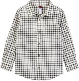 Tea Collection Rafael Plaid Baby Shirt (Baby Boys)