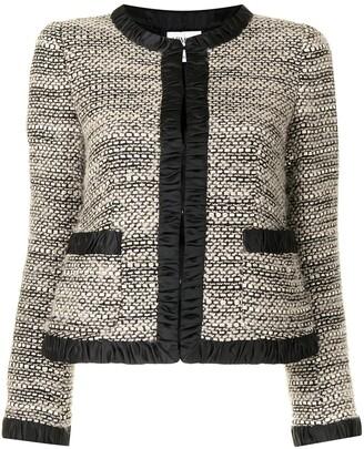 Giorgio Armani Pre-Owned Single-Breasted Tweed Jacket