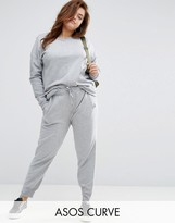 Asos Track Pant with Step Hem