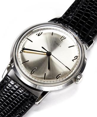 Timex Marlin Watch in White 34mm