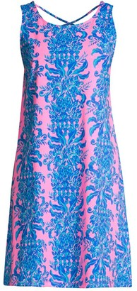 Lilly Pulitzer Kristen Crisscross Back Swing Dress