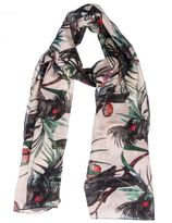 Paul Smith Cockatoo Print Scarf