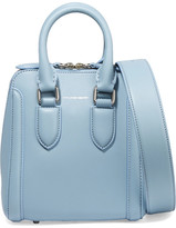 Alexander McQueen The Heroine Small Leather Shoulder Bag - Blue