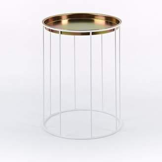 west elm Amigo Modern Column Side Table + Tray