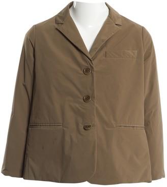 Aspesi Khaki Polyester Jackets