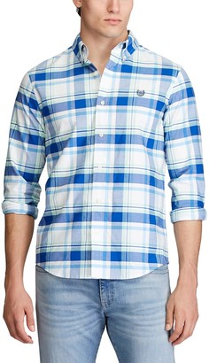 Chaps Big & Tall Stretch Classic-Fit Oxford Button-Down Shirt
