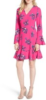 Draper James Women's Magnolia Mockingbird Bell Sleeve A-Line Dress