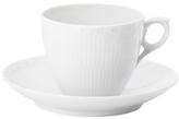 Royal Copenhagen Half Lace Coffee Cup & Saucer Set (2 PC)