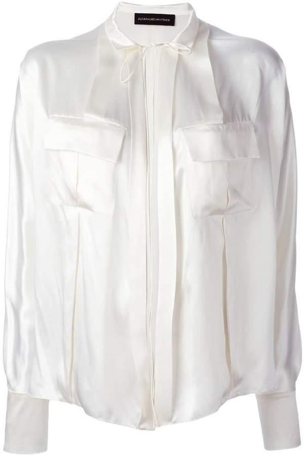 Alexandre Vauthier drawstring shirt