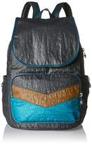 Kipling Cayenne, Women's Backpack, Mehrfarbig (Twisted Block), 27x37x19.5 cm (B x H T)