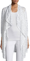 Magaschoni BURNOUT EASY CARDIGAN