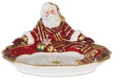 Fitz & Floyd Renaissance Holiday Santa Server