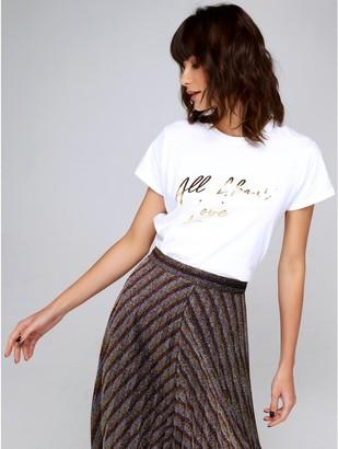 M&Co Love slogan t-shirt