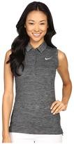 Nike Precision Sleeveless Heather Polo