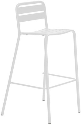 Soundslike HOME Halmstad Outdoor Bar Chair White