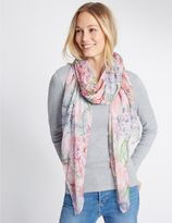 Marks and Spencer Pretty Floral Print Scarf