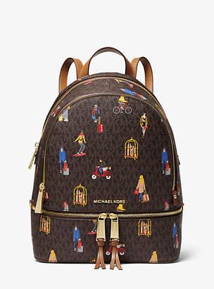 MICHAEL Michael Kors Rhea Medium Jet Set Girls Backpack