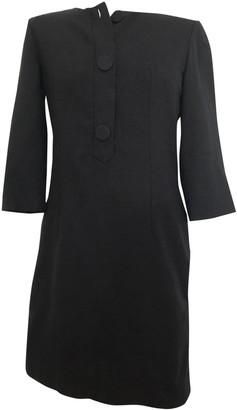 Chloé Black Wool Dress for Women Vintage