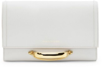 Alexander McQueen The Small Story Leather Cross-Body Bag