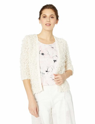 Nic+Zoe Women's Plush Party Cardy