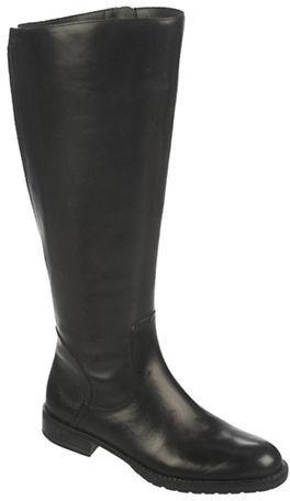 Franco Sarto Trooper Wide Calf Leather Boots