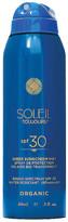Soleil Toujours Travel Organic Sheer Sunscreen Mist SPF 30.
