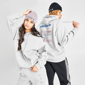 adidas Women's Graphic Allover Print Hoodie
