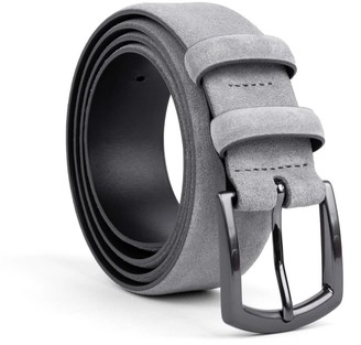 Dalgado Handmade Leather Belt Grey Umberto