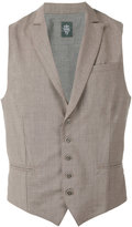 Eleventy classic waistcoat - men - Spandex/Elastane/Wool - M