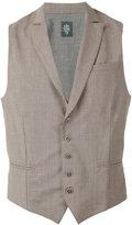 Eleventy classic waistcoat - men - Spandex/Elastane/Wool - S