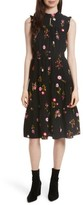 Kate Spade Women's In Bloom Smocked Waist Dress