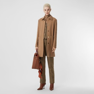Burberry Double-faced Wool Tailored Coat