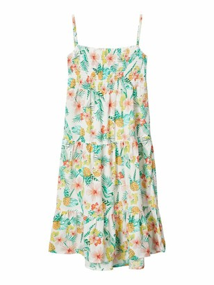 Name It Girl's Nkfvinaya Strap Maxi Dress Hh Playwear
