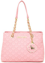 Betsey Johnson Be Mine Chain Shoulder Bag