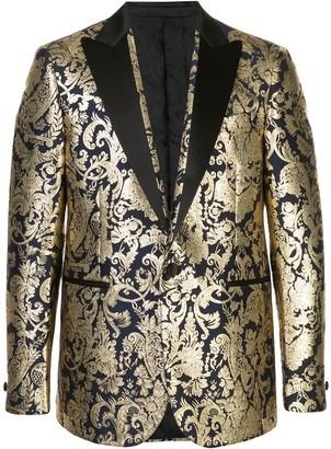 Versace Barocco brocade blazer