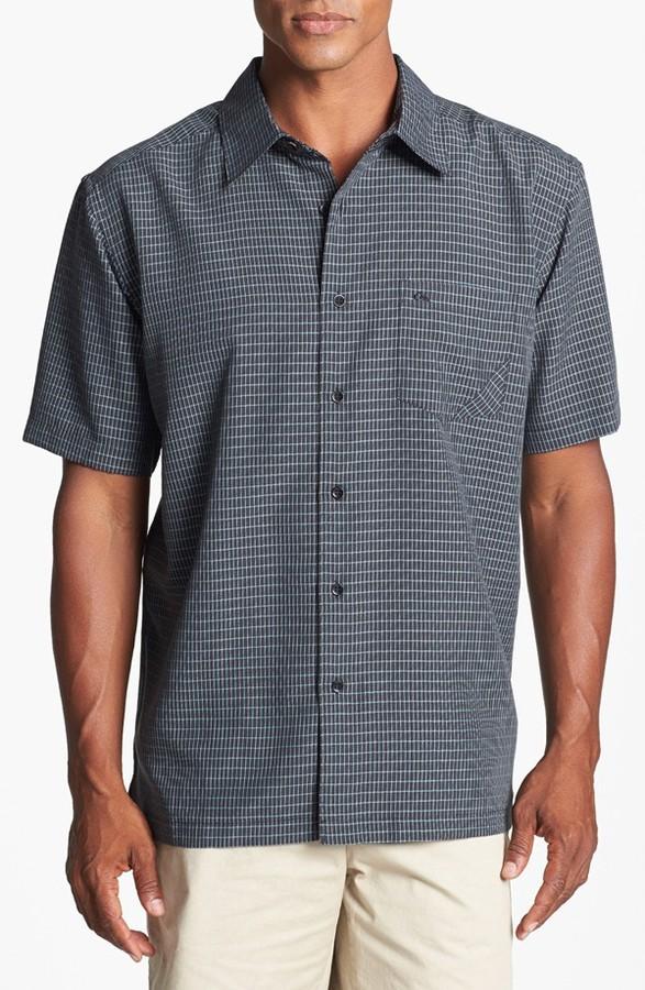 Quiksilver Waterman 'Bluey's Beach' Comfort Fit Sport Shirt