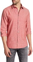 Lindbergh Woven Long Sleeve Regular Fit Shirt